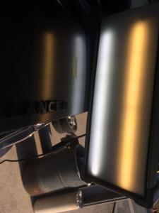 ミツビシエボ8MRのトランクにできたヘコミafter デントリペア・Tact 奈良県吉野郡大淀町