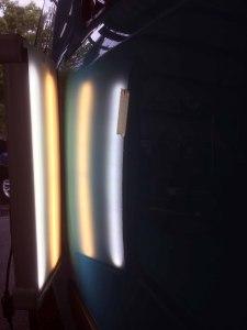 カングースライドドアのヘコミafter デントリペア・Tact 奈良県奈良市輸入車販売業者様